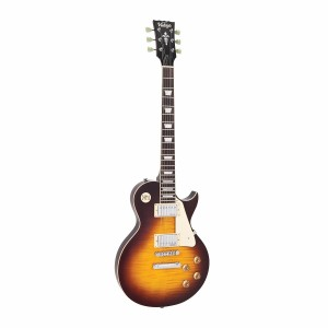 Gitara Vintage Chrome Hardware Flamed Iced Tea V100IT