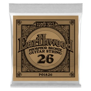 Struna .026 owijana Ernie Ball Earthwood Phosphor Bronze Acoustic (1826)
