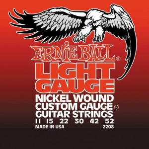 Struny Ernie Ball Slinky Nickel Wound Light 11-52 (2208)