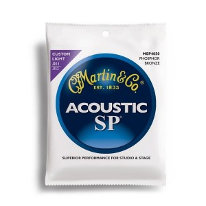 Struny Martin Acoustic SP 92/8 Phosphor Bronze Custom Light 11-52 MSP4050