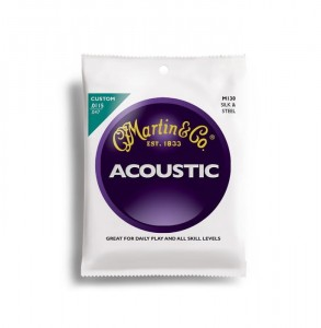 Struny Martin Acoustic Silk&Steel Traditional 11.5-47 M130
