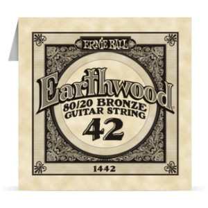 Struna .042 owijana Ernie Ball Earthwood 80/20 Bronze Acoustic (1442)
