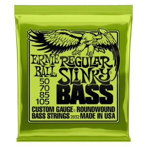 Struny Ernie Ball Regular Slinky Bass  Nickel Wound 50-105 (2832)