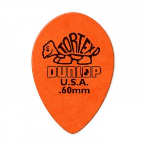 Kostka gitarowa Dunlop Tortex Small Tear Drop .60mm