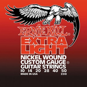 Struny Ernie Ball Slinky Nickel Wound Light 10-50 (2210)