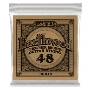 Struna .048 owijana Ernie Ball Earthwood Phosphor Bronze Acoustic (1848)