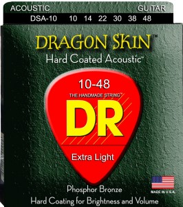 Struny DR Dragon Skin Hard Coated Acoustic Phosphor Bronze 10-48 (DSA-10)