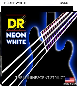 Struny DR Neon™ Hi-Def White Bass K3 Coating 45-105 (NWB-45)