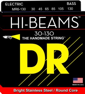 Struny DR Hi-Beams™ Stainless Steel Round Core 30-130 (MR6-130)