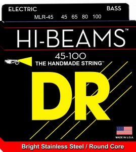 Struny DR Hi-Beams™ Stainless Steel Round Core 45-100 (MLR-45)
