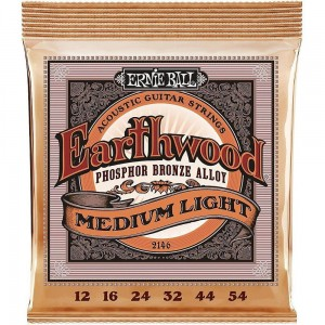 Struny Ernie Ball Earthwood Acoustic Phosphor Bronze Medium Light 12-54 (2146)