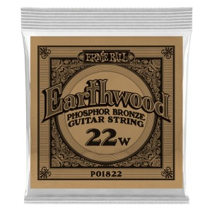Struna .022 owijana Ernie Ball Earthwood Phosphor Bronze Acoustic (1822)