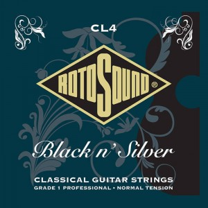 Struny Rotosound Black n' Silver Classical Normal Tension CL4
