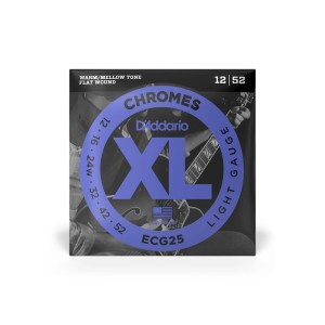 Struny D'Addario Chromes Light 12-52 ECG25