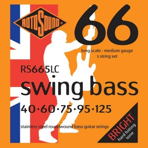 Struny Rotosound Swing Bass Stainless Steel 5-string 40-125 (RS665LC)