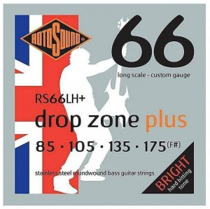 Struny Rotosound Drop Zone Plus Stainless Steel 85-175 (RS66LH+)