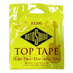 Struny Rotosound  Top Tape Flatwound 12-52 RS200