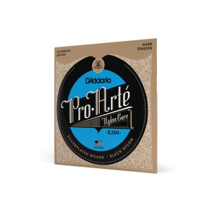 Struny D'Addario EJ50 Pro-Arte Black Nylon Hard Tension