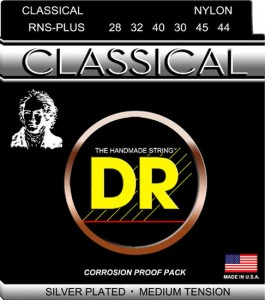 Struny DR Nylon Classical RNS-Plus