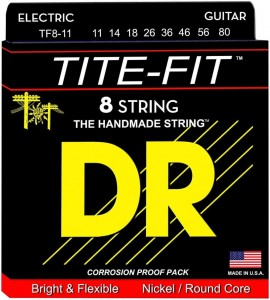 Struny DR Tite-Fit™ 8-String 11-80 (TF8-11)