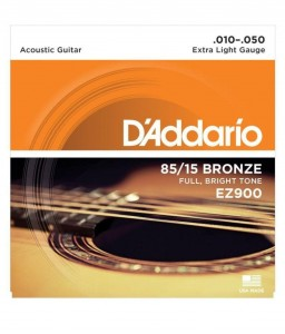 Struny D'Addario 85/15 Bronze Extra Light 10-50 EZ900
