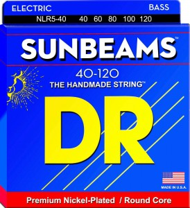 Struny DR Sunbeams™ Premium Nickel Plated 40-120 5-string (NLR5-40)