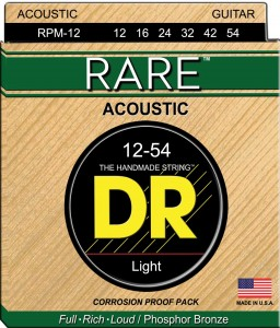 Struny DR Rare Acoustic Phosphor Bronze Light 12-54 (RPM-12)
