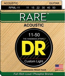 Struny DR Rare Acoustic Phosphor Bronze Custom Light 11-50 (RPML-11)