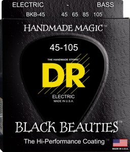Struny DR Black Beauties Coated 45-105 (BKB-45)