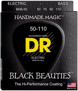 Struny DR Black Beauties Coated 50-110 (BKB-50)