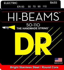 Struny DR Hi-Beams™ Stainless Steel Round Core 50-110 (ER-50)