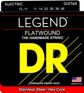 Struny DR Legend Flatwound Medium Light 11-48 (FL-11)