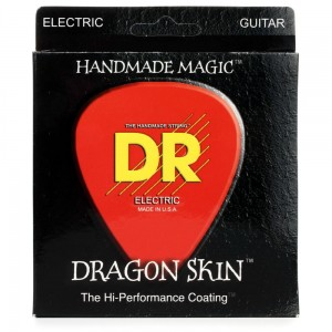 Struny DR Dragon Skin Coated Electric Light-Heavy 9-46 (DSE-9/46)