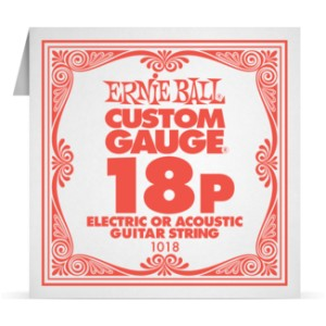Struna .018 nieowijana Ernie Ball Electric/Acoustic (1018)