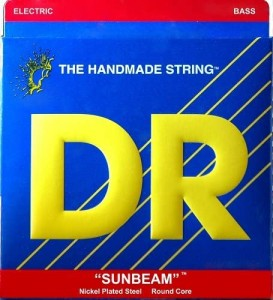 Struny DR Sunbeams™ 6-strings Premium Nickel Plated 30-130 (NMR6-130)