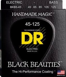Struny DR Black Beauties Coated 45-125 (BKB5-45)