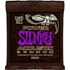 Struny Ernie Ball Power Slinky Acoustic  Phosphor Bronze 13-56 (2144)