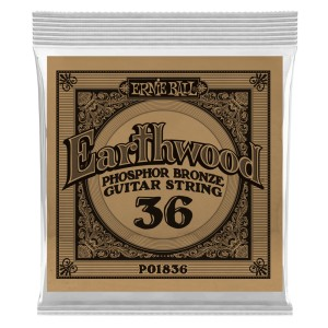 Struna .036 owijana Ernie Ball Earthwood Phosphor Bronze Acoustic (1836)