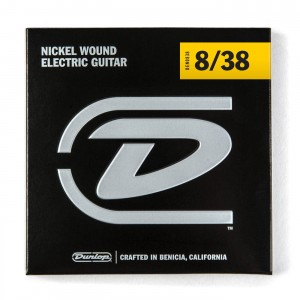 Struny Dunlop Electric Light Nickel Wound 8-38