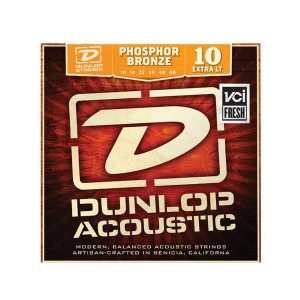 Struny Dunlop Acoustic Extra Light Phosphor Bronze 10-48