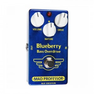 Mad Professor Blue Berry Bass Overdrive Factory Made