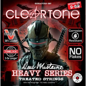 Struny Cleartone Electric Dave Mustaine 9-52