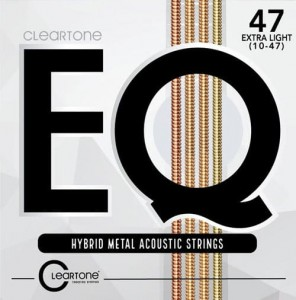 Struny Cleartone EQ Hybrid Metal Acoustic Extra Light 10-47