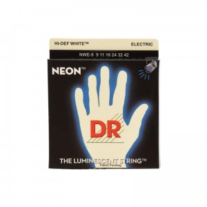 Struny DR Neon™ Hi-Def White Electric K3 Coating 10-46 (NWE-10)
