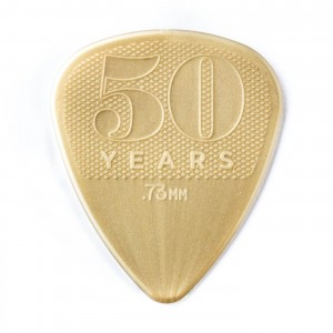 Kostka gitarowa Dunlop 50th Anniversary Gold Nylon .73mm