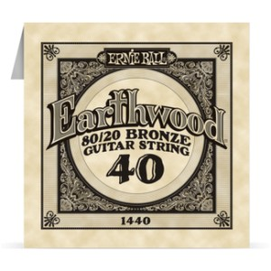 Struna .040 owijana Ernie Ball Earthwood 80/20 Bronze Acoustic (1440)