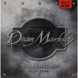 Struny Dean Markley Nickel Steel Electric Signature CL-7 9-56 (2508C)