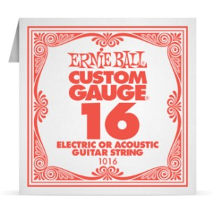 Struna .016 nieowijana Ernie Ball Electric/Acoustic (1016)