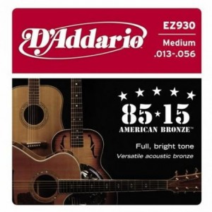 Struny D'Addario EZ930 Great American Bronze Medium 13-56