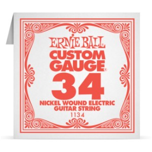 Struna .034 owijana Ernie Ball Nickel Wound Electric (1134)